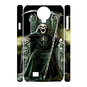 SamSung Galaxy S4 I9500 Devil 3D Art Print Design Phone Back Case Use Your Own Photo Hard Shell Protection LK057528
