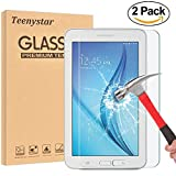 samsung 3 protective screen - Samsung Galaxy Tab E Lite 7.0/Tab 3 Lite 7.0 Glass Screen Protector, Teenystar 9H Tempered Glass Screen Protector, Crystal Clear, Scratch-Resistant, Bubble Free For SM-T113/T110/T111/T116. (2 Pack)