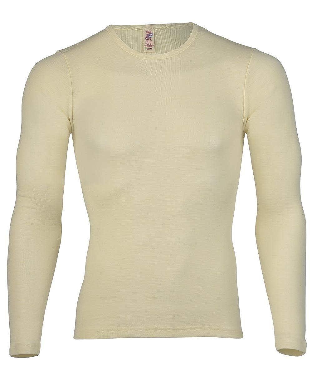 Uomo e Donna Maglia intima a maniche lunghe, 100% lana vergine, marchio: Engel Natur 404800