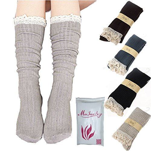 Pairs Women Cotton Footed Stocking