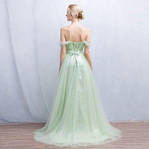 Vimans Damen A-Linie Kleid Weiß korIQP