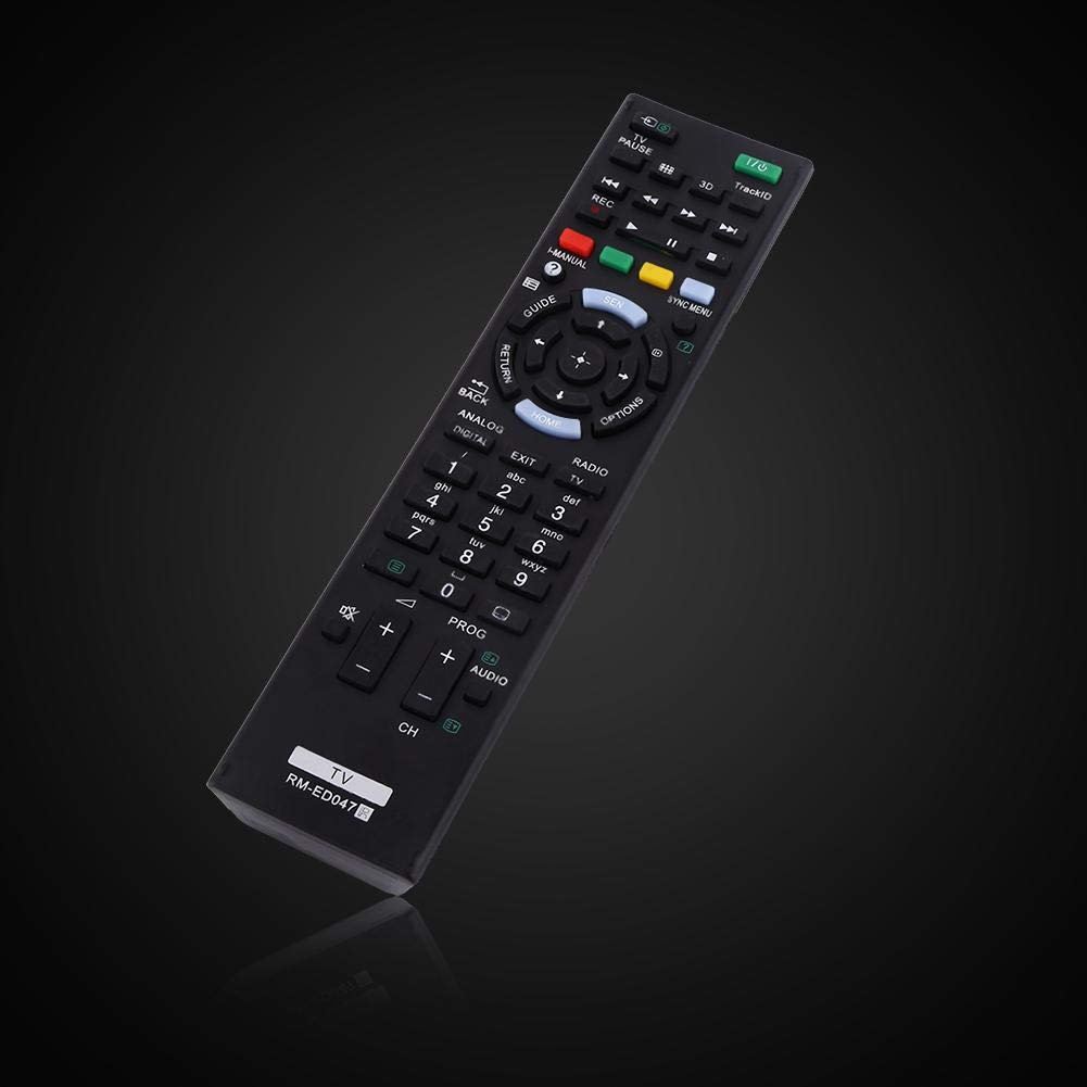 Remote Control Universal TV Remote Control Replacement Controller for Sony LCD LED Smart TV RM-ED047 not Include The Battery