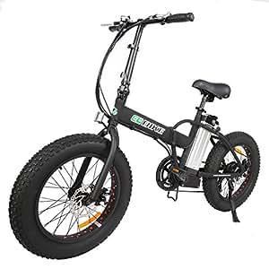 20 new fat tire folding electric bike beach. Black Bedroom Furniture Sets. Home Design Ideas
