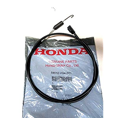 itonotry Genuine Honda 54510-VG4-B01 Clutch Cable Fits HRR216SDA HRT216SDA OEM, Product_by: Powered_by_Moyer, ket10231780409270 : Garden & Outdoor