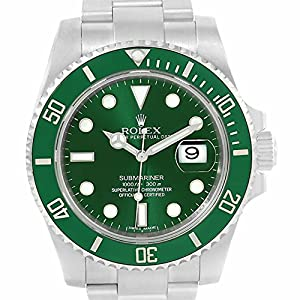 Rolex Submariner automatic-self-wind mens Watch 116610LV (Certified Pre-owned)