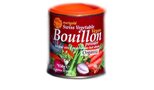 Amazon.com: (10 PACK) - Marigold - Org Veg Bouillon Powder | 150g | 10 PACK BUNDLE by Marigold Health Foods: Health & Personal Care
