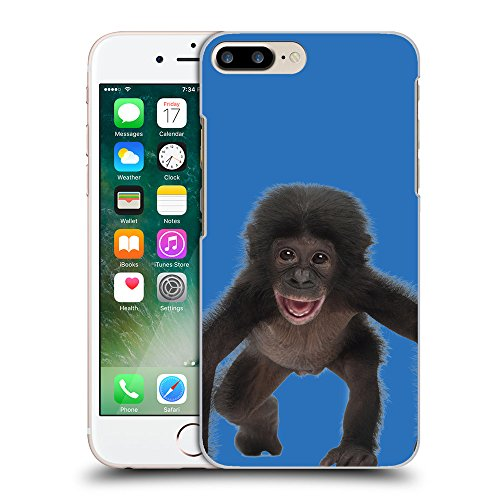 GoGoMobile Coque de Protection TPU Silicone Case pour // Q05570608 Bébé bonobo Azzurro // Apple iPhone 7 PLUS