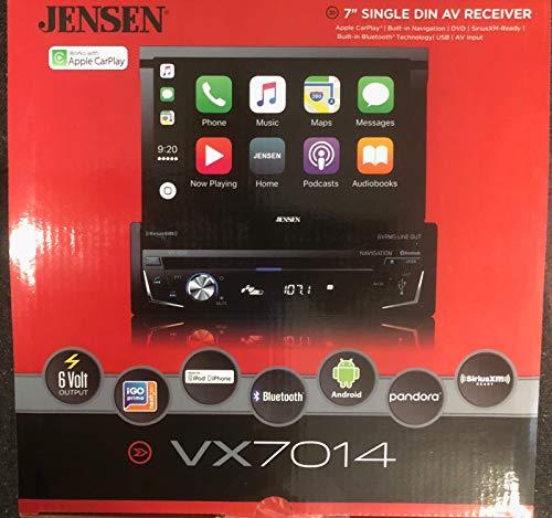 Jensen VX7014 Navigation Receiver (Best Single Din Navigation)