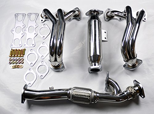 Hyundai Tiburon 02-07 2.7L V6 Stainless Race Manifold Headers & Downpipe