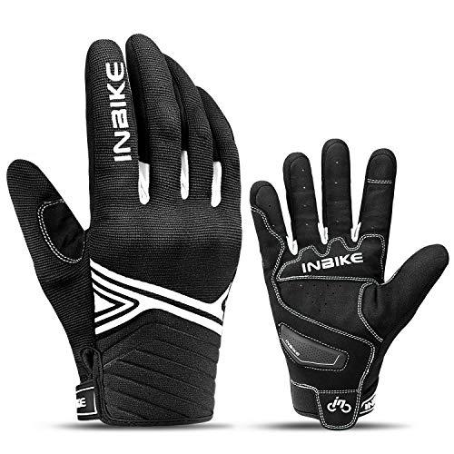 INBIKE Motorhandschoenen voor Mannen Motorfiets Ademend Touchscreen Hard Knuckle Fietsen Mountainbike Rijden