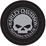 Harley-Davidson Tire Cover Grey Willie G Skull