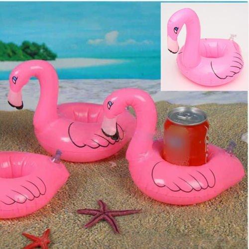 DESPARATE HOUSEMAN CO.LTD Cute Flamingo Floating Inflatable Drink Holder Pool Bath Toys Bath Party Beach price tips cheap