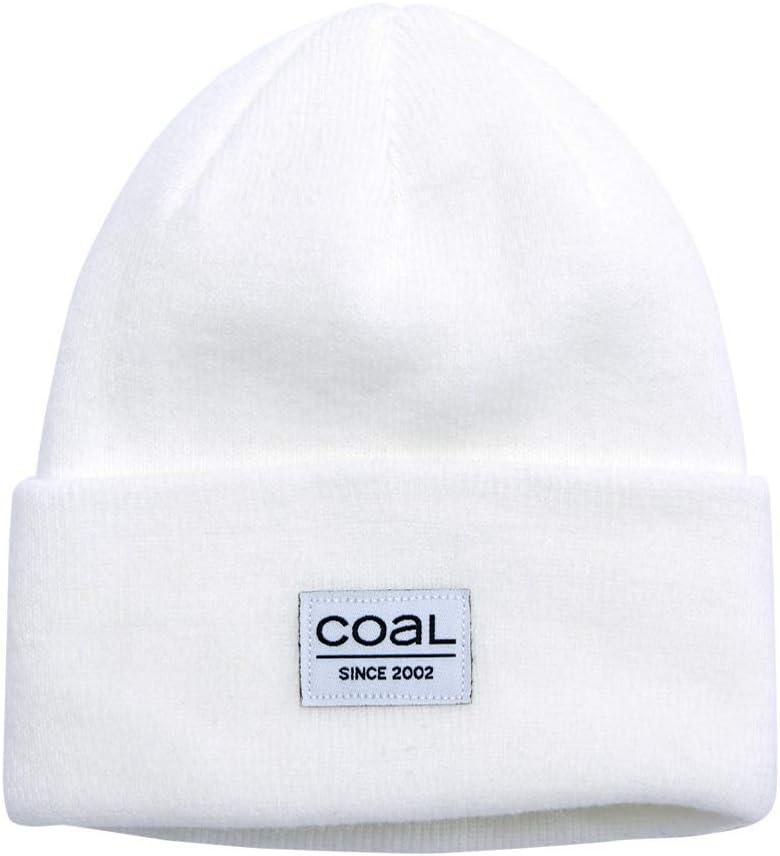 Coal The Standard Acrylic Knit Cuffed Beanie Hat White