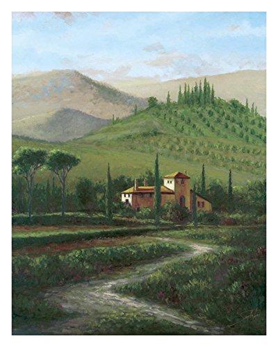 (Global Gallery Sambataro Villa at Stia-Giclee on Paper Print-Unframed-28 x 22 in Image Size, 28