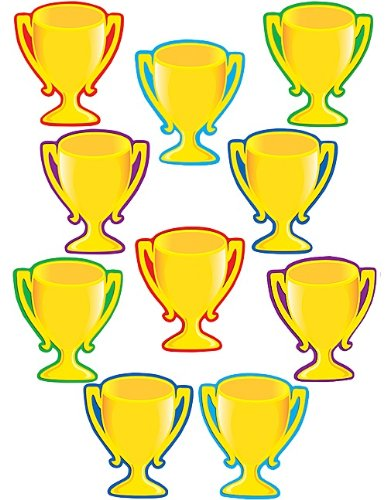 Teacher Created Resources Trophy Cups Accents (4569)