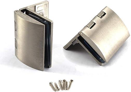 Kit de bisagras para puerta de cristal de aleación de zinc con ...
