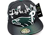 Philadelphia Kids - Youth Philly Skyline Eagles Colors Green Black Snapback Hat Cap (Kids HAT). This is not Men's Size