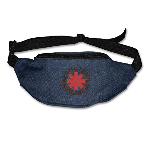 Red Hot Chili Peppers RHCP Logo Unisex Lightweight Waist Pocket Phone Holder Pack Bags