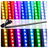 """22"""" 7 Color RBG SMD LED Knight Rider Scanner Lights with ..."""