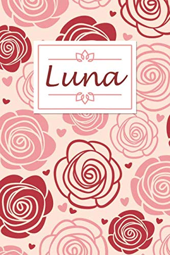 (Luna: Personalised Notebook / 120 Lined Pages / Perfect for journaling and writing notes.)