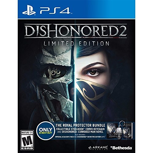 Price comparison product image Dishonored 2 Limited Edition Exclusive The Royal Protector Bundle [Playstation 4]