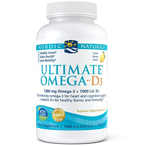 Nordic Naturals - Ultimate Omega-D3, Supports Healthy Bones and Immunity, 120 Soft Gels by Nordic Naturals (Image #3)'