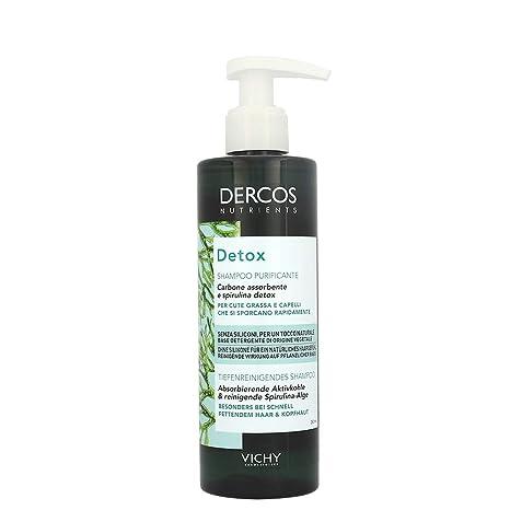 Vichy Dercos Nutrients Detox champú, 250ml.