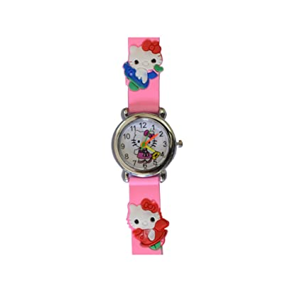 VITREND New Model Hello Kitty Round Dial Birthday Gifts Sent As Per Available Colour