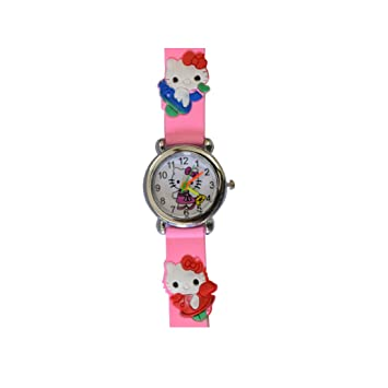 VITREND TM New Model Hello Kitty Round Dial Birthday Gifts Sent As Per Available Colour Watch