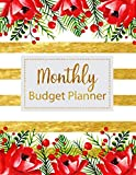 Monthly Budget Planner: Floral Vintage Stripes Weekly Expense Tracker Bill Organizer Notebook Business Money Personal Finance Journal Planning ... Inches (Expense Tracker Budget Planner)