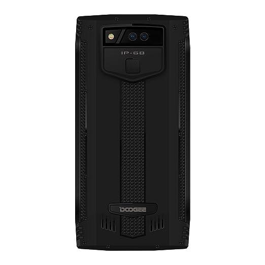 DOOGEE S50-5.7 Pulgadas (relación 18: 9) IP68 Impermeable Smartphone, 2.5GHz Octa-Core 6GB + 128GB, cámaras cuádruples, batería de 5180mAh Carga rápida: ...