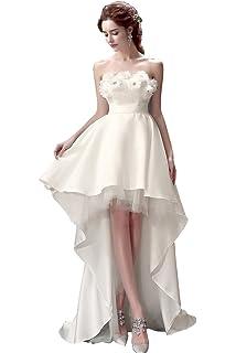 5470690a1c468 ミニドレス 白 花嫁ドレス ウェディングドレス ミニ パーティードレス 二次会ドレス エンパイアドレス ショートドレス…