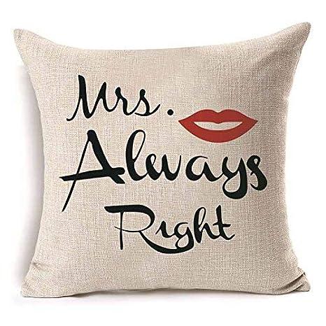 KDTCDBYMX Fundas para Cojines Lino Mujeres Hombres Love Lip ...
