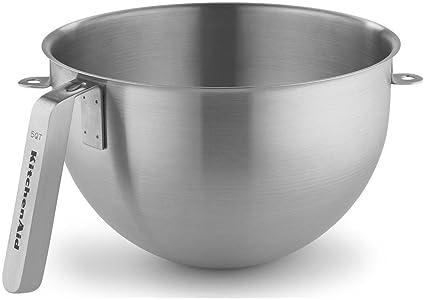 6c7e511452f9 Image Unavailable. Image not available for. Color: KitchenAid KSMC5QBOWL 5-Quart  Mixing Bowl ...
