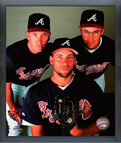 Tom Glavine, John Smoltz, Greg Maddux Atlanta Braves MLB Action Photo (Size: 17