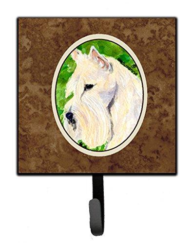 Caroline's Treasures SS8791SH4 Scottish Terrier Leash Holder or Key Hook, Small, Multicolor