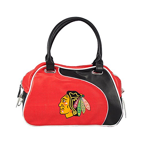 NHL Chicago Blackhawks Perf-ect Bowler (Perfect Bowler Purse)