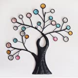 "Comfy Hour 12"" Colorful Metal Art Tree Wall decor (Kitchen)"