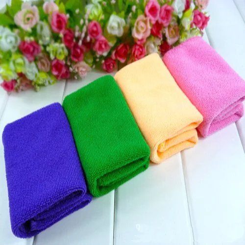 4 Packs Bath Towels Bathroom Towel For Kids Adults, Super Soft Bamboo Fiber Washcloths, High Absorbent Face & Hand Towel for Spa Gym, Quick Dry Sport Towel 13