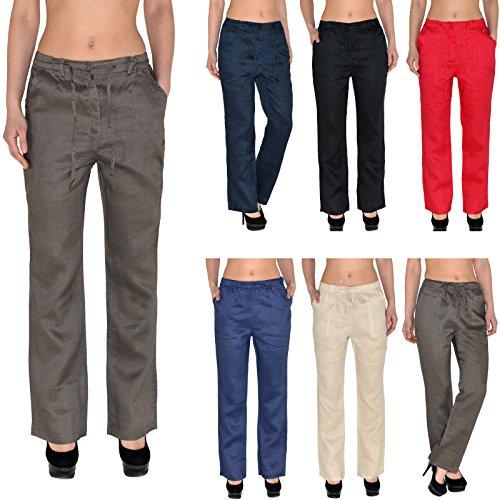 Pantalon Pantalons de noir H108 Pantalons H108 de de Femmes by Lin Femmes tex Rlax Femmes d't Pantalons Loisirs zgq7txTq