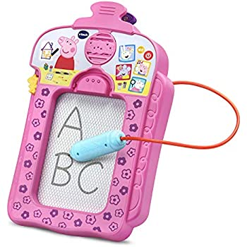 Terrific Vtech Peppa Pig Scribbles Sounds Doodle Board Pink Ocoug Best Dining Table And Chair Ideas Images Ocougorg
