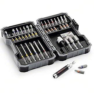 Bosch Professional 43tlg. Schrauber Bit Set (Zubehör Bohrschrauber) 7