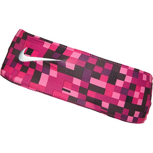 NIKE FURY GLITCH HEADBAND (SPORT FUCHSIA/WHITE)