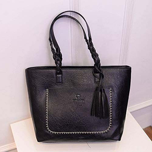 Dark Brown Bags Women Hobo Satchel Dark Handbag Messenger PU Shoulder New Leather Bag Brown Tote Purse maket HqOACwx