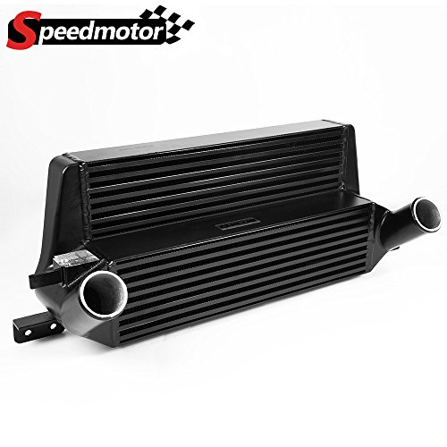 Direct Bolt On Upgrade Performance Aluminum Intercooler Replacement For Ford Mustang 2.3L EcoBoost 2015 2016 2017