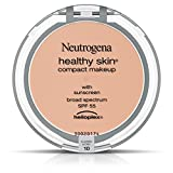 Neutrogena Healthy Skin Compact Makeup Foundation, Broad Spectrum Spf 55, Classic Ivory 10, .35 Oz.