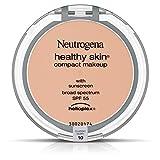 Facial Brush Neutrogena - Neutrogena Healthy Skin Compact Makeup Foundation, Broad Spectrum Spf 55, Classic Ivory 10, .35 Oz.
