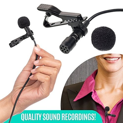 Ultimate Lavalier Microphone For Bloggers And Vloggers Lapel Mic Clip-on Omnidirectional Condenser for Iphone Ipad Samsung Android Windows Smartphones - Image 3