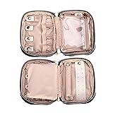 Teamoy Mini Jewelry Travel Case, Small Storage