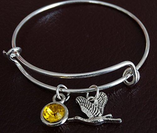 Stork Bracelet, Stork Charm, Stork Pendant, Stork Jewelry, Stork Gift for Her, Stork Women, Stork Girl, Stork Girlfriend, Stork Lover Gift, Stork Birthday, Crane Bracelet, Crane (Girl Stork Charm)